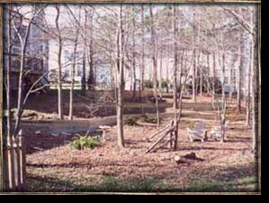 Before the backyard transformation began